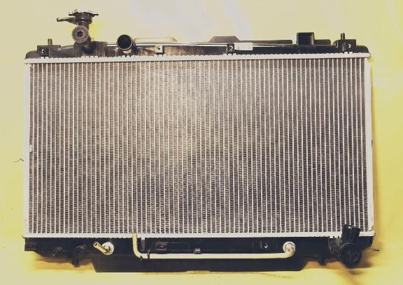 Замена радиатора охлаждения Тойота
